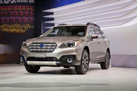 2015 Subaru Outback First Look - Motor Trend