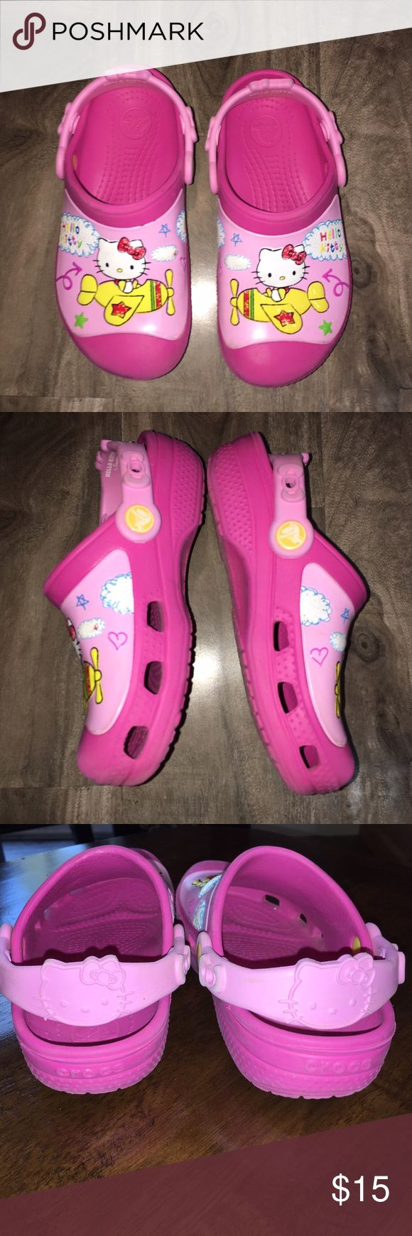 Crocs Hello Kitty size 12/13 Very good condition by Crocs, size 12/13. Hello Kitty CROCS Shoes Sandals & Flip Flops