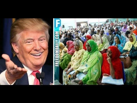 (5) BREAKING: 4,800 Entitled Muslims In U.S. Got BIG Surprise From Trump Right Before He Bombed ISIS - YouTube