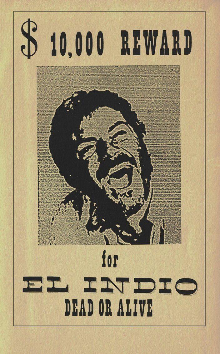 "El Indio, villain in ""For a few dollars more"" ( Gian Maria Volonté )"