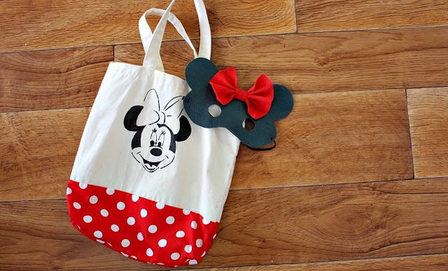 H.E.L.M.I handmade: Minnie Mouse present