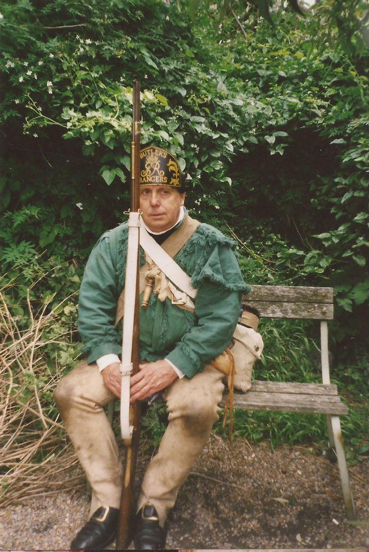 Stewart as a Butler's Ranger