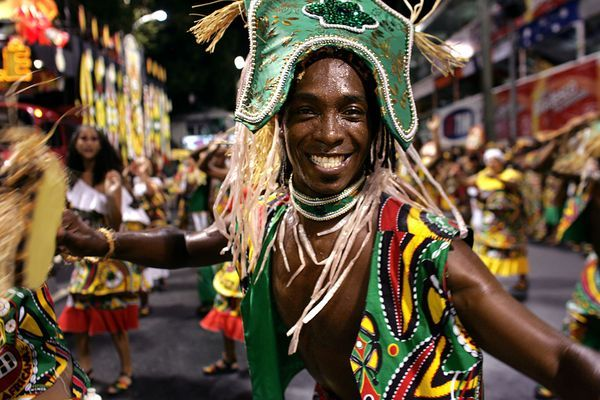 Carnaval in Salvador-da-Bahia, Brazil