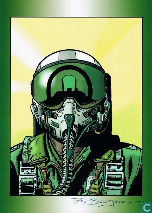 Comic ex-libris and prints - Comic ex-libris - Buck Danny