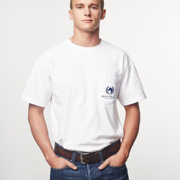 Finest Quality Polo Graphic Pocket Tee