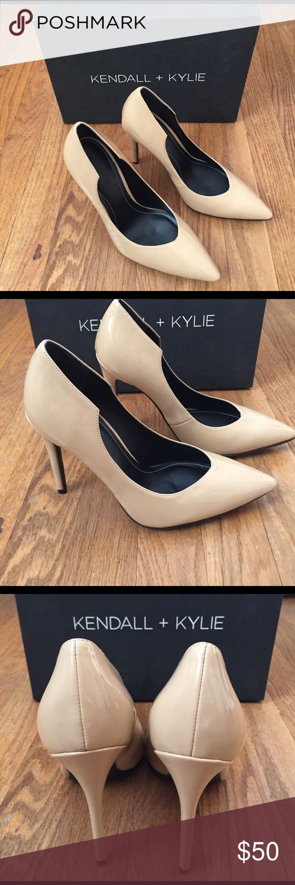 Kendall + Kylie Abi Pumps Gorgeous nude pumps from Kendall + Kylie. A great neutral