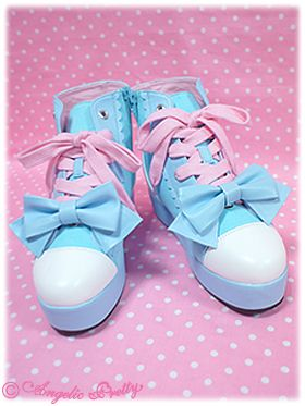 Pop ☆ Girl thick-soled sneakers