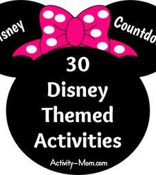 30 Disney Themed Activities