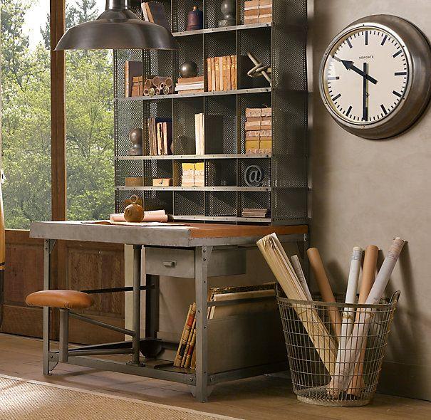 Metropolitan Wall Clock Restoration Hardware Home