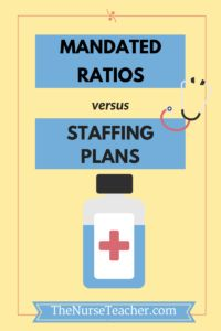 Comparing the different proposed nurse staffing concepts.