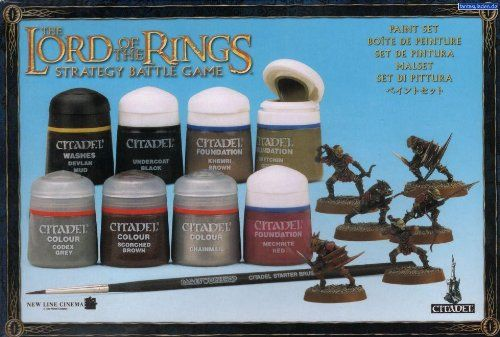 Lord of the Rings Paint Set - LOTR - Games Workshop Miniatures - Citadel @ niftywarehouse.com
