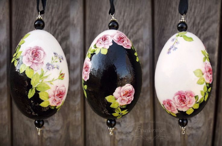 Easter egg - decoupage print-room