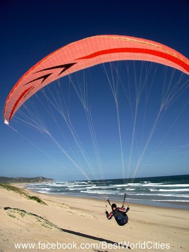 Paragliding in the Garden Route