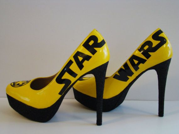 Star Wars Shoes Custom Made to Order by DeathStarDoll on Etsy, $85.00