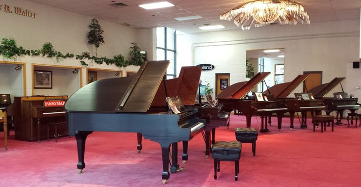 Walter Piano Showroom