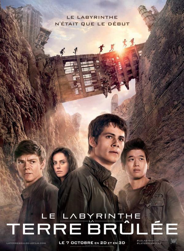 Le labyrinthe 2 : La terre brûlée - Seriebox