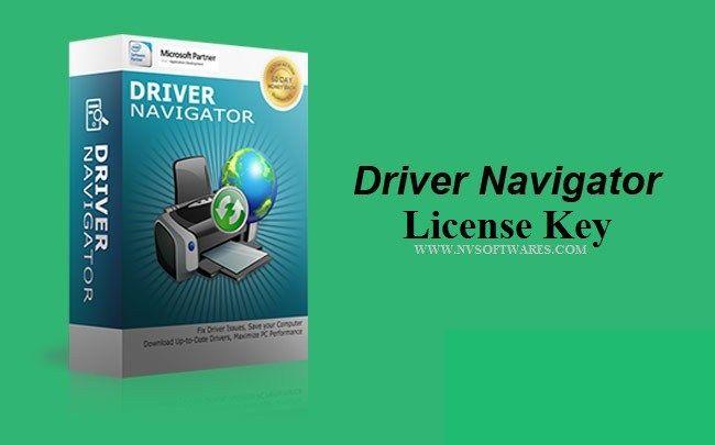 driver navigator serial number
