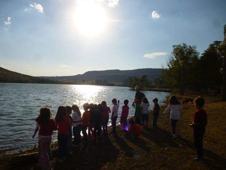 Aprendiendo de y con los niños en un hermoso lugar: Cañada de Negros, Purisíma del Rincón, Gto.