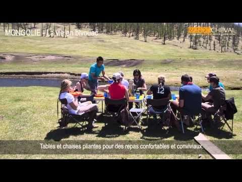 Trek en Mongolie - Vidéo de notre matériel de camping - http://www.rando-cheval-mongolie.com/trekking-mongolie.html