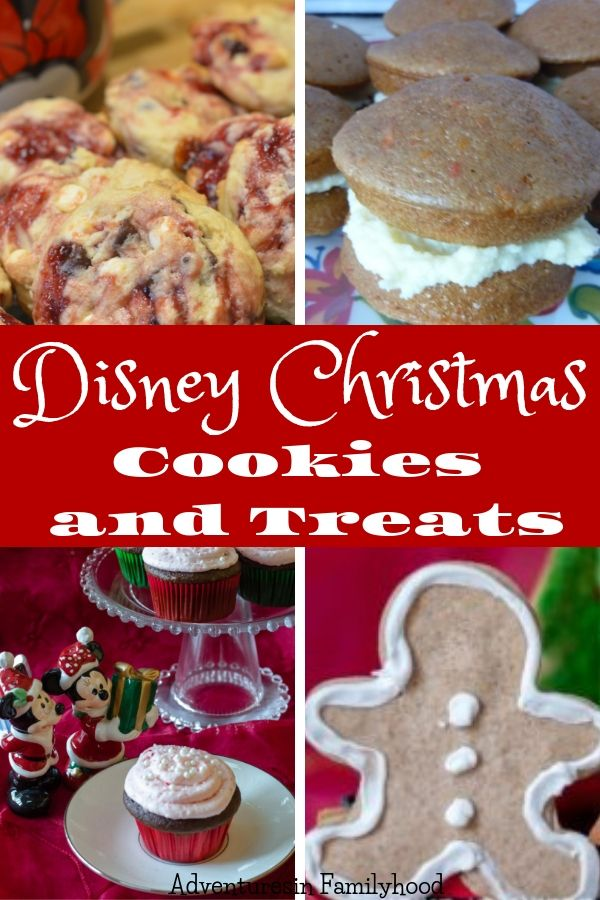 Disney Christmas Cookies And Treats Christmas And Winter Holidays