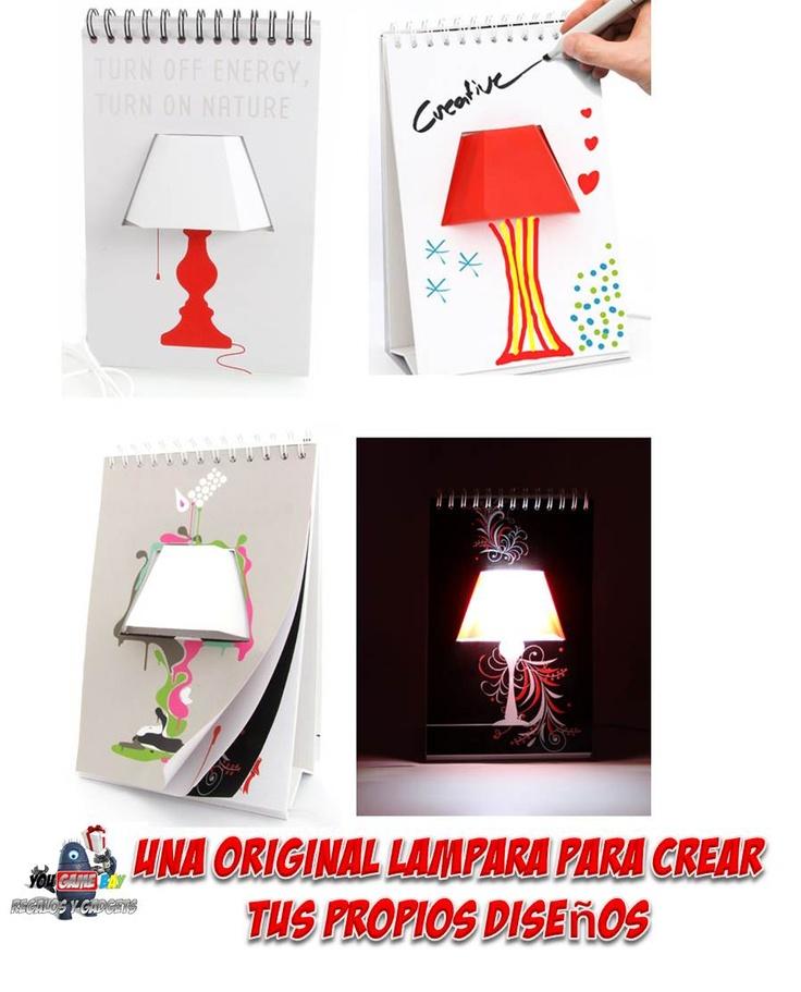 Lamparas originales para el hogar una original lampara - Lamparas para el hogar ...
