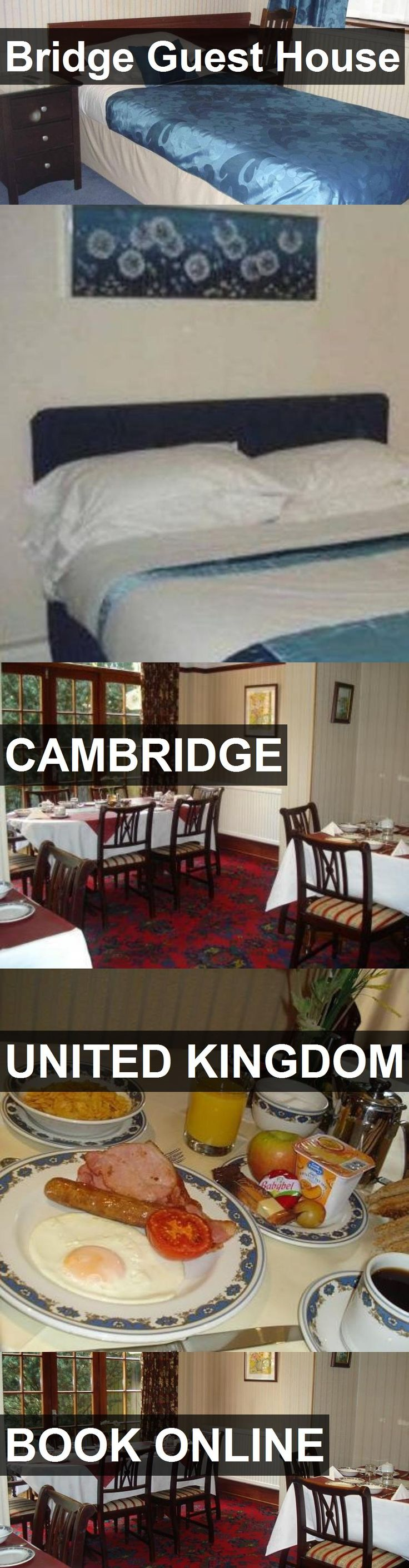 Bridge Guest House in Cambridge, United Kingdom. For more information, photos, reviews and best prices please follow the link. #UnitedKingdom #Cambridge #travel #vacation #guesthouse