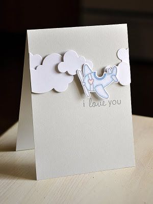 Papertrey Ink PTI Products Tremendous Treats: Valentine Stamp Set, Cloud Dies