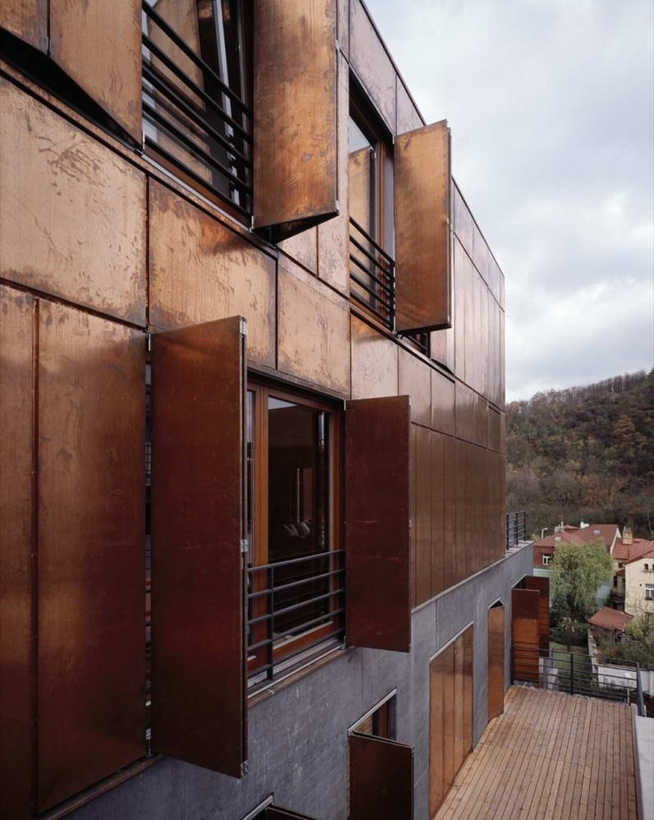 Modern Terrace House by Pavel Hnilicka Architekti Window Design