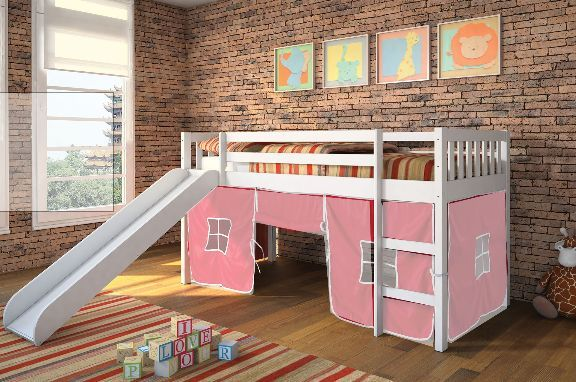 10 Of The Most Fun Kids Beds With Slides Pink Houses