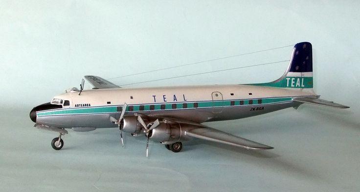 TEAL DC-6 Model