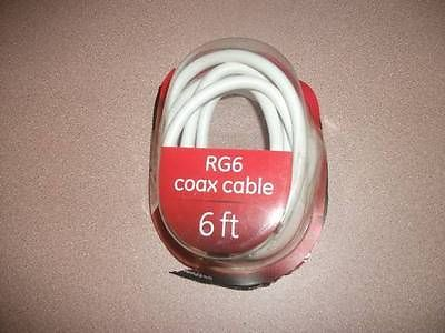 COAX CABLE GE - RG6 NEW IN PACKAGE