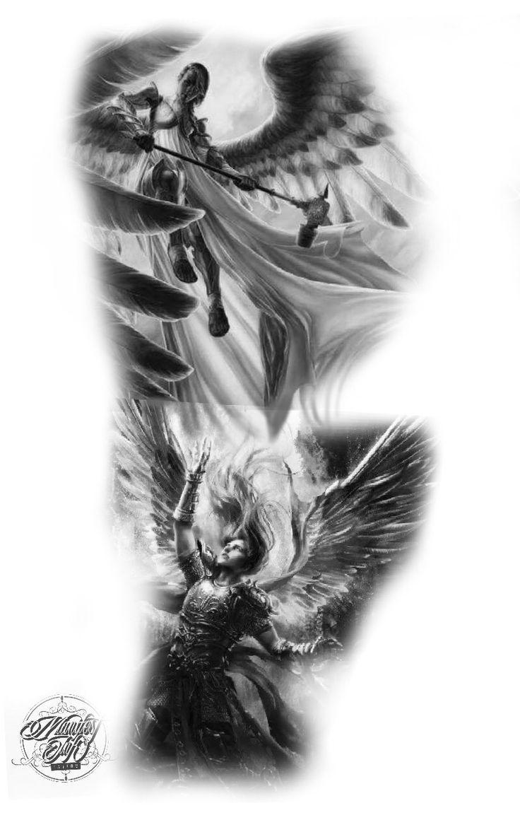 Engel Tätowierung #angel #tattoo   – Tattoos