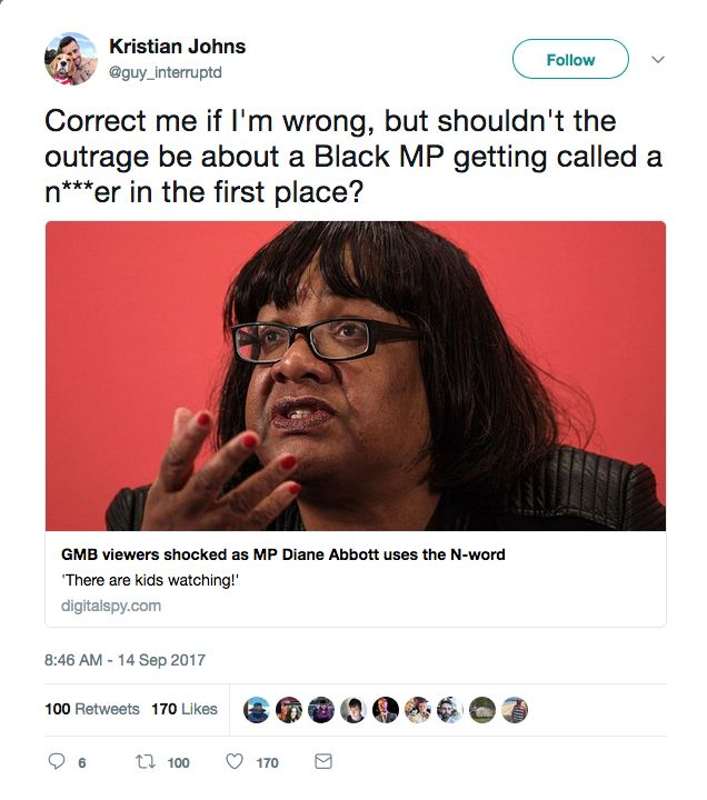 Some out there on the right are frothing with faux outrage after Labour MP Diane Abbott appeared on ITV Good Morning Britain this mor...
