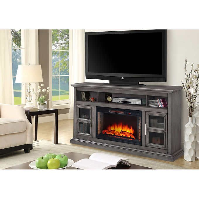 Academy 58 Media Electric Fireplace Console Fireplace Tv Stand