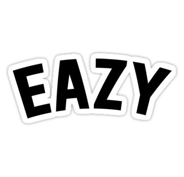 G eazy stickers by goldblooded2 redbubble