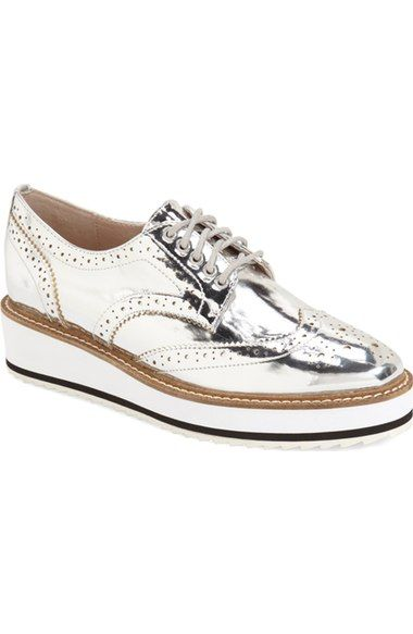 Shellys London 'Emma' Platform Oxford (Women) available at #Nordstrom