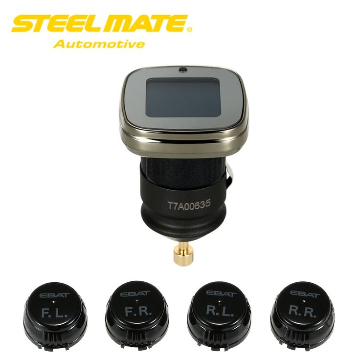 83.12$  Watch now - http://ali7w6.shopchina.info/1/go.php?t=32617721838 - Steelmate ET-780AE DIY Wireless TPMS Tire Pressure Monitoring System with Adjustable LCD Display 4 Sensors Bar PSI Unit  #buymethat