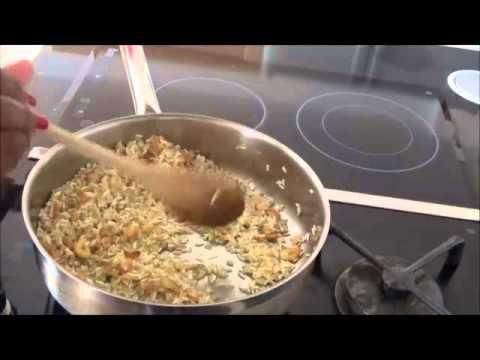 receita,arroz pilaf ao alho