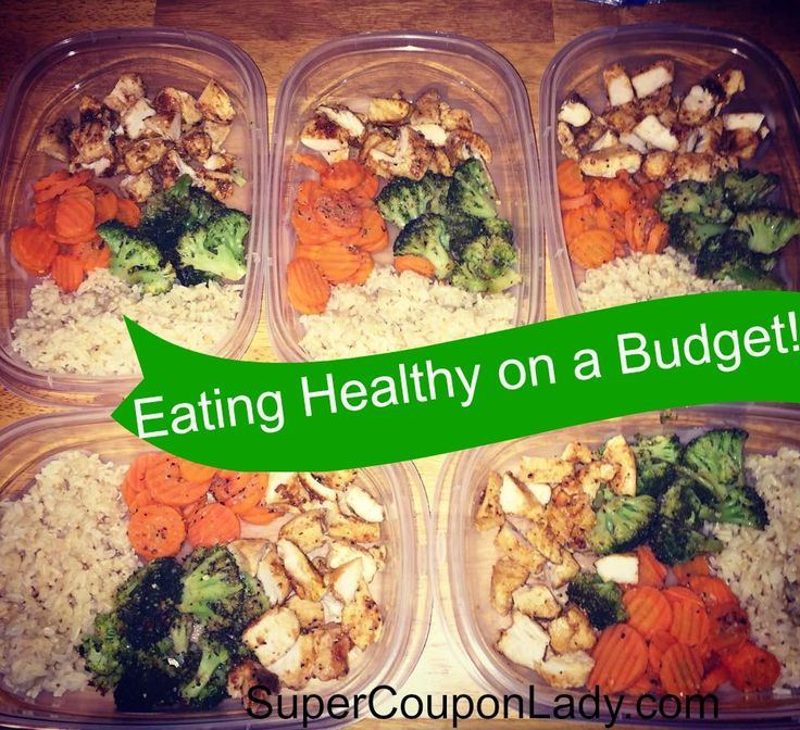 Eating Healthy On a Budget! See breakdown of how to make all these meals on a budget! http://www.supercouponlady.com/eating-healthy-budget/