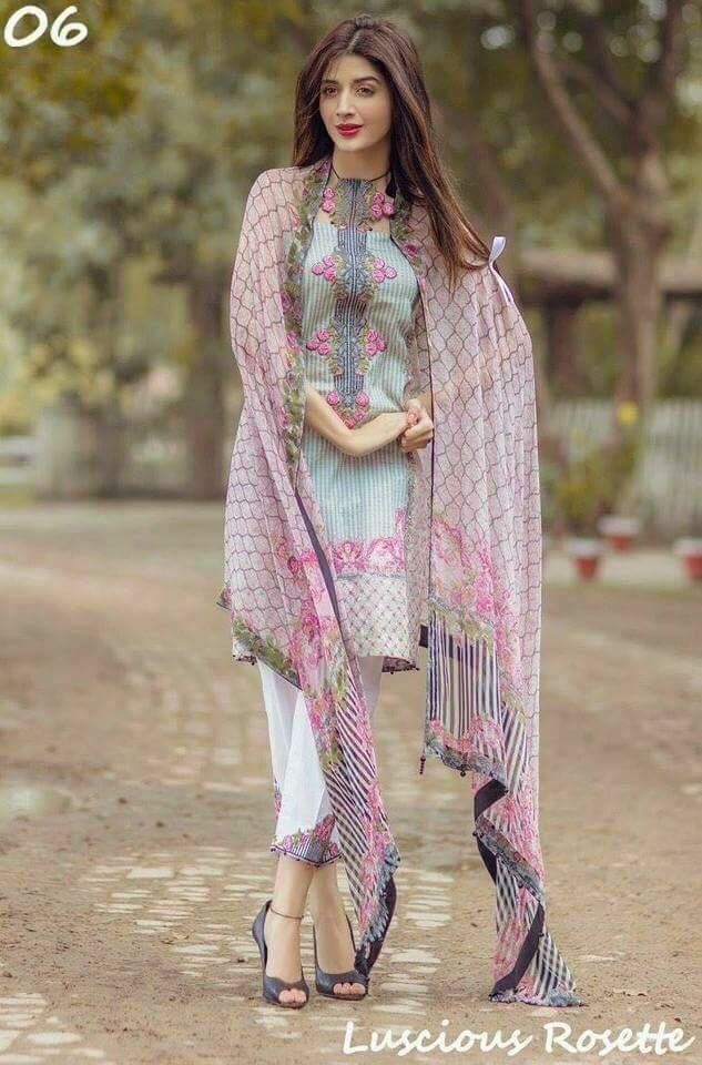 Noor Summer Lawn Collection 2017 By Sadia Asad | PK Vogue