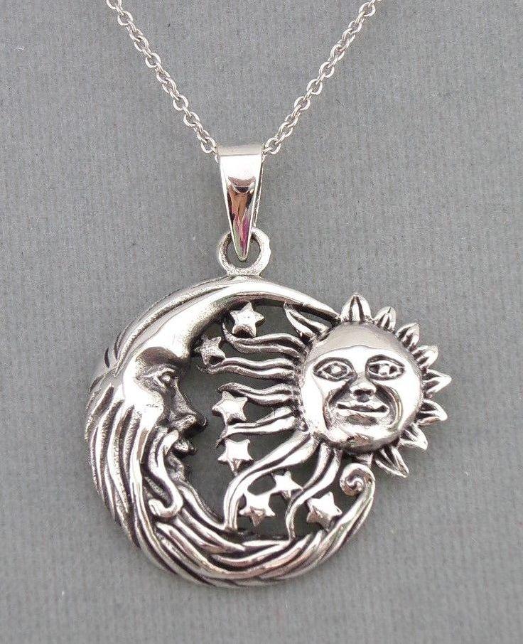 Ideal 9 best Celestial Sun Moon Necklaces images on Pinterest | Moon  PJ56