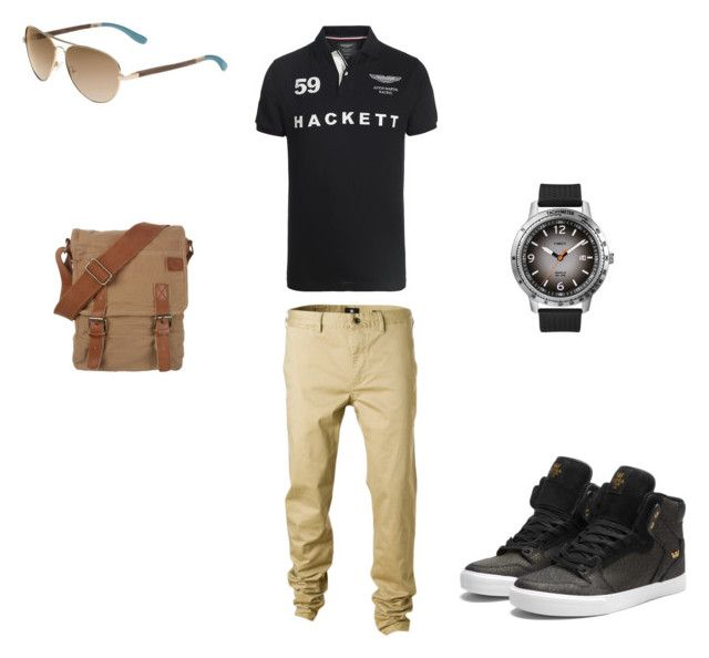 ni by barbaranecho on Polyvore featuring Supra, TOMS, Hackett, DC Shoes, Fat Face and Timex