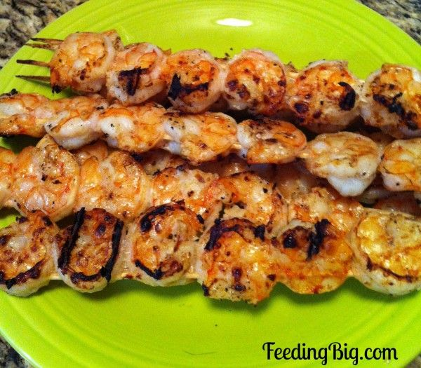 Grilled Shrimp with Lime Marinade