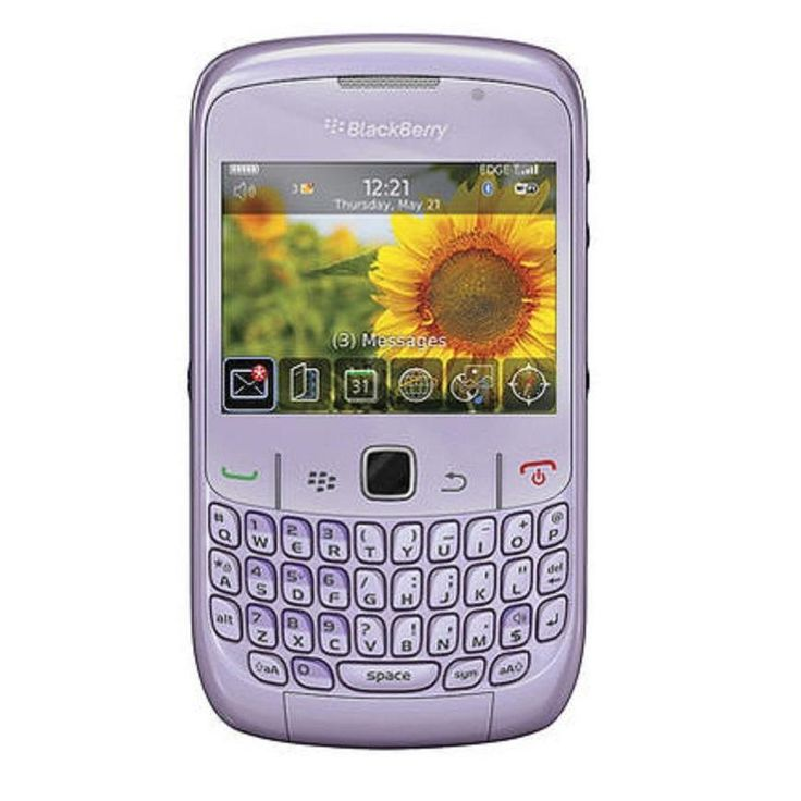Blackberry Curve 8520 Unlocked GSM OS 5.0 Cell Phone -