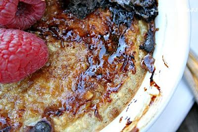 Baked {creme brulee} Oatmeal - Single serving- made adaptations using ...