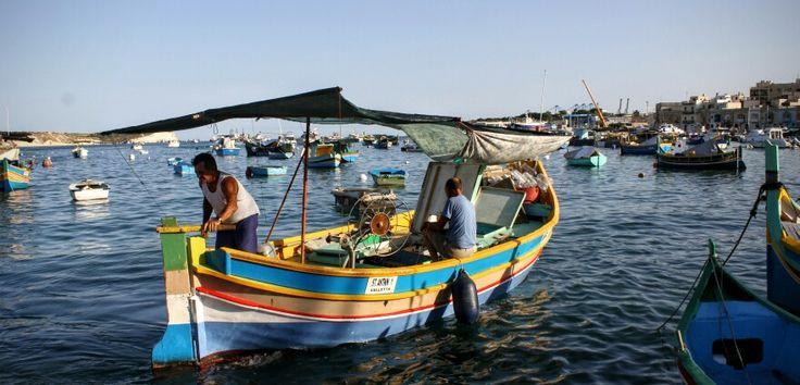 People of Malta. Marsaxlokk