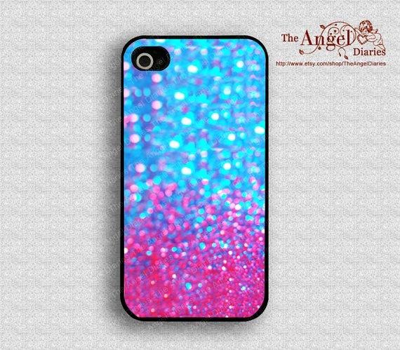 Iphone  Ombre Glitter Case