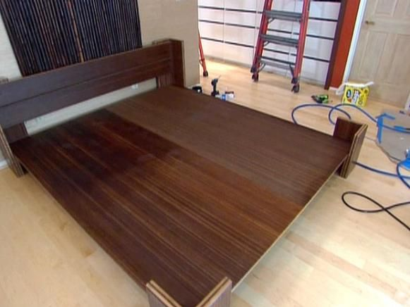 How To Build A Bamboo Platform Bed Home Bed Frame