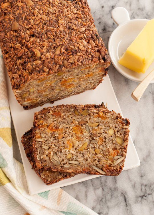 Recipe: Gluten-Free Granola Toasting Bread with dried apricots — Breakfast Recipes from The Kitchn