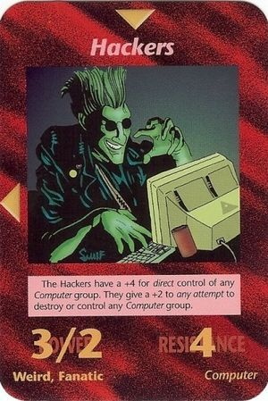 Illuminati Card Game -Hackers